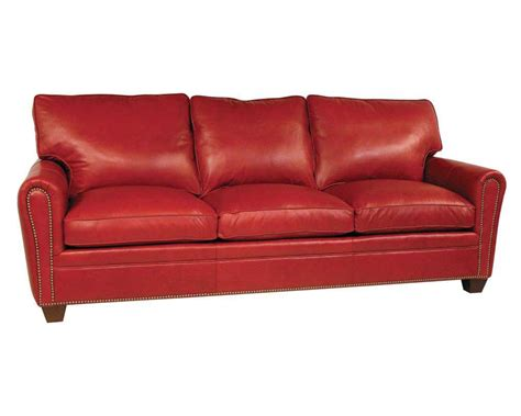 leather sleeping sofa classic leather bowden sleeper sofa cl11328slp