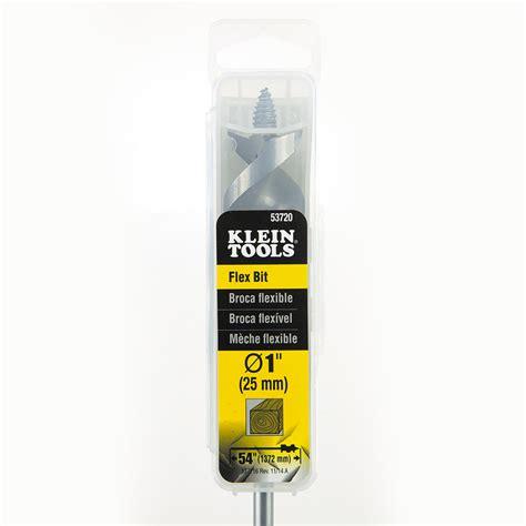 1 flex cable auger flex bit auger 1 x 54 53720 klein tools for