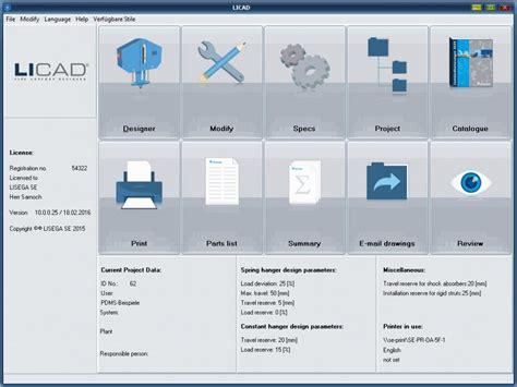 design pattern software architecture design software licad for support design by lisega