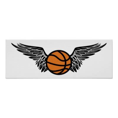 tattoo basketball wings clipart best