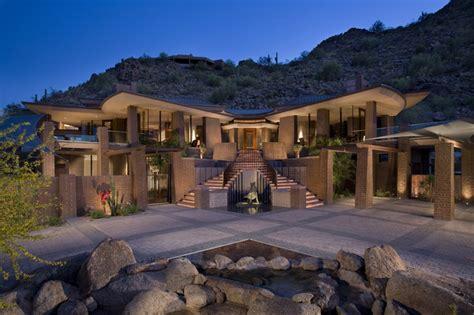 Tan Bar Stools by Paradise Valley Arizona