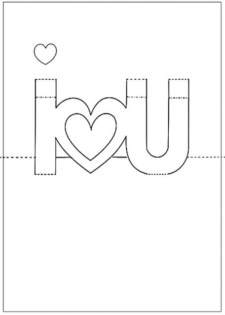 i u pop up card template abrilliant