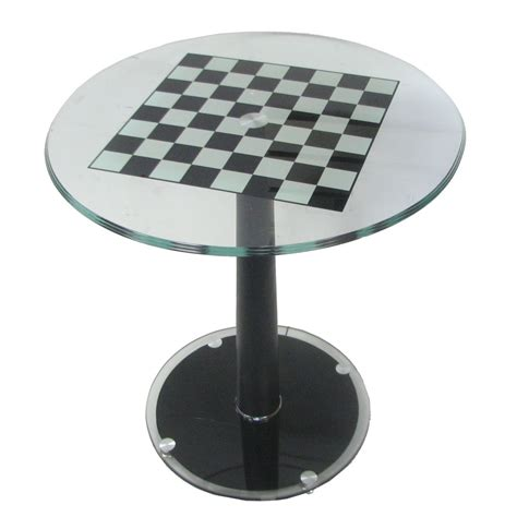 chess table large modern italian pedestal chess table
