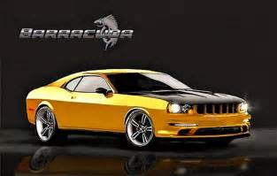 2014 dodge challenger barracuda concept official photo