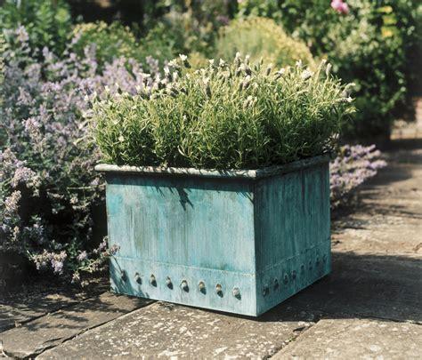 Bronzino Planters by Riveted Box Flowerpots Planters From Bronzino Architonic