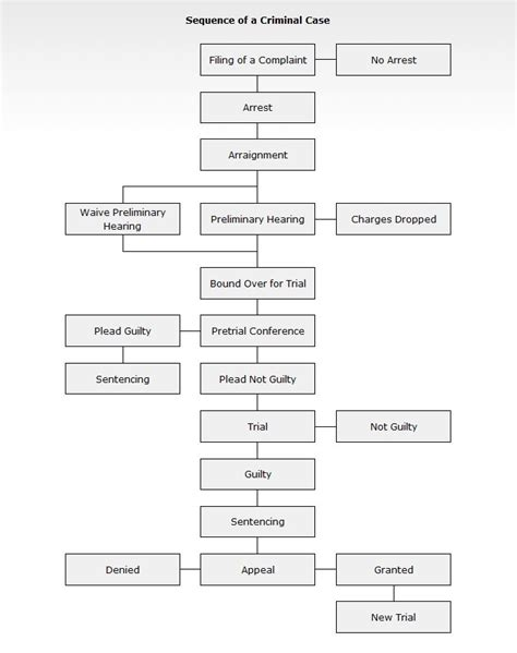 criminal flowchart criminal procedure flow chart this criminal justice