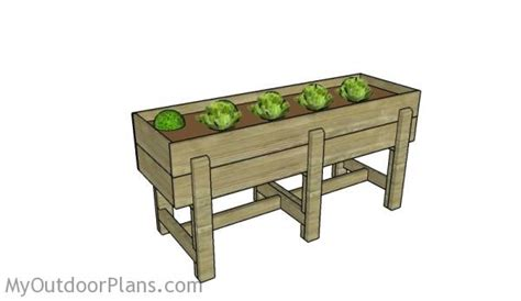Waist High Raised Garden Bed Plans waist high raised garden bed plans myoutdoorplans free woodworking plans and projects diy