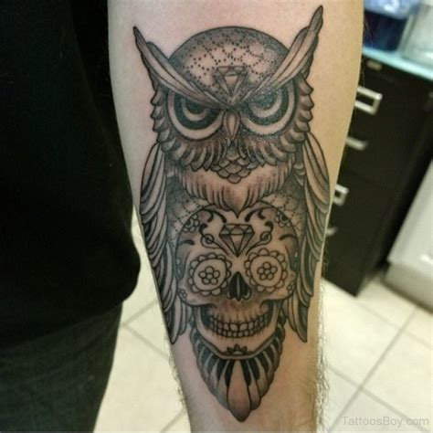 owl tattoo on forearm owl tattoos designs pictures page 18