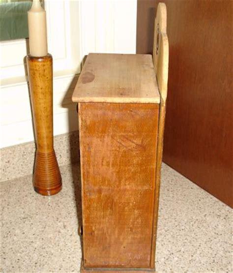 Wooden Spice Cupboard Vintage Primitive Wooden Spice Cabinet Wood Spice