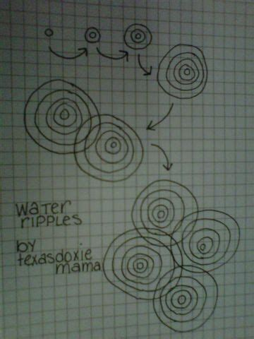 zentangle pattern water water ripples pools and texas on pinterest