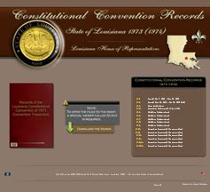 State Of Louisiana Records Louisiana House Of Representatives Portal