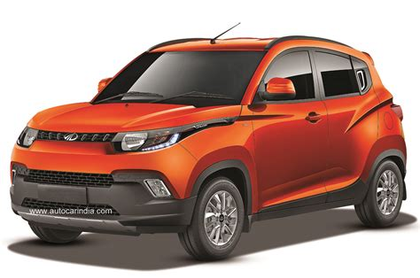 Mahindra KUV100: First look   Car News   Budget SUVs