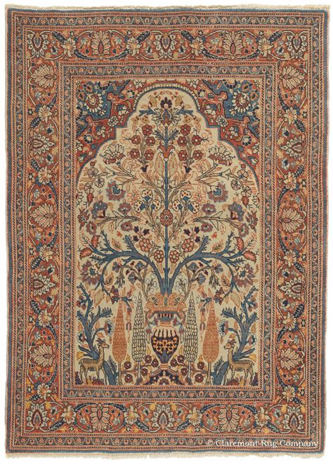 10 To Live By Rug by Antique Tabriz Rug In Soft Colors