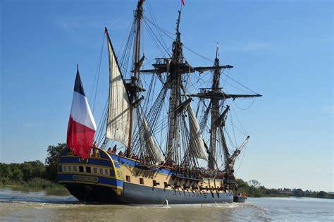 hermione bateau voyage hermione essais en mer marine marchande