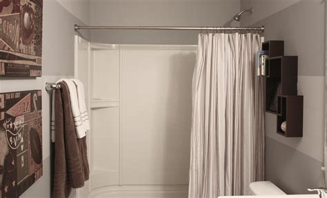 Ideas For Bathroom Curtains by Bathroom Decorating Ideas Shower Curtain Home Combo