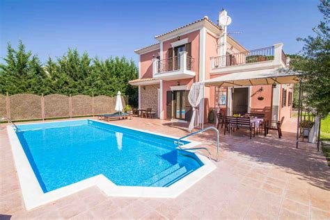 villa marina layout villa marina kefalonia sleeps 8 agni travel villas