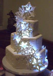Winter Wonderland Decorating Ideas - elegant winter wedding cake decorations holiday cake