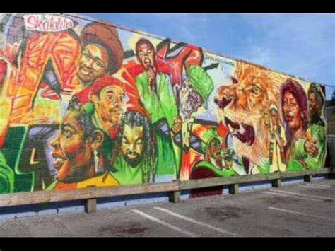 canada recognizes reggae   huge mural