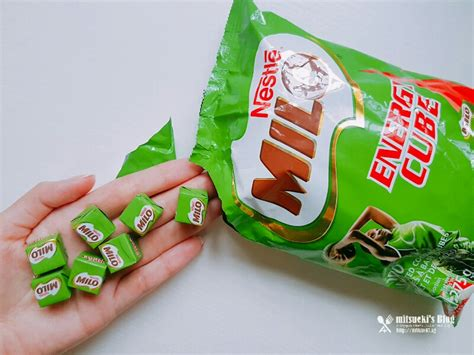 Milo Energy Cube 10 Pcs Snack Milo Bestseller snack review milo energy cubes mitsueki singapore lifestyle food fashion