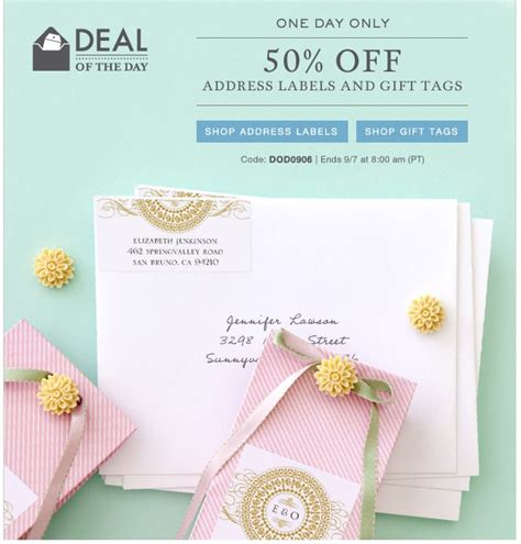 Wedding Paper Divas Address Labels by 17 Best Images About Weekly Wedding Deals On