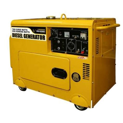 pro series 5 500 7 000 watt diesel powered