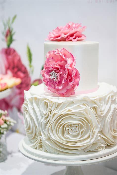 rose themed dessert kara s party ideas pink rose dessert table for a christening