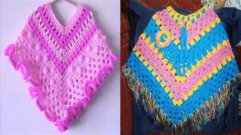 manualidades paso a paso tejido a crochet capas capas ponchos de bebe tejidas en crochet imagenes youtube