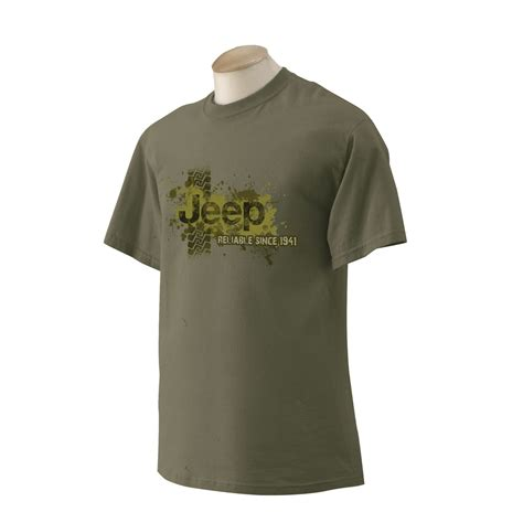 Jeep Clothing Shopping Jeep Clothing Jeep 174 Reliable Muddy Olive Green Shirt