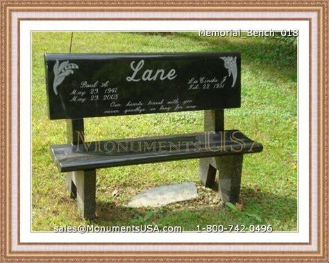 bench gravestones joshua memorial park lancaster ca
