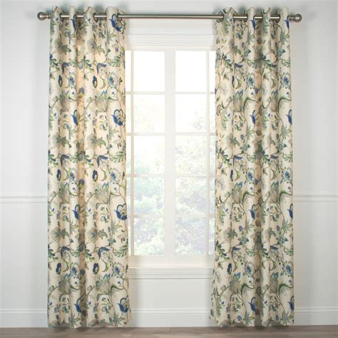 how to put grommets on curtains indoor outdoor grommet top curtains and panels