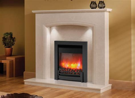 Marble Hill Fireplaces by J R Hill Comforto Micro Marble Fireplace