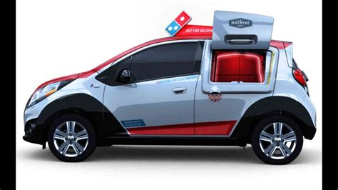Pizza Auto by Dominos Have Built Pizza Delivery Car With Own Oven