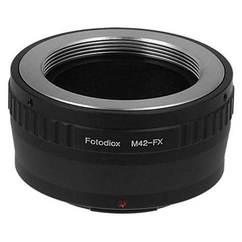 M42 Lens To Fuji X m42 mount lens to fujifilm x series fx mount pro mount adapter fotodiox