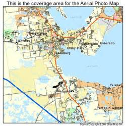 aerial photography map of leesburg fl florida