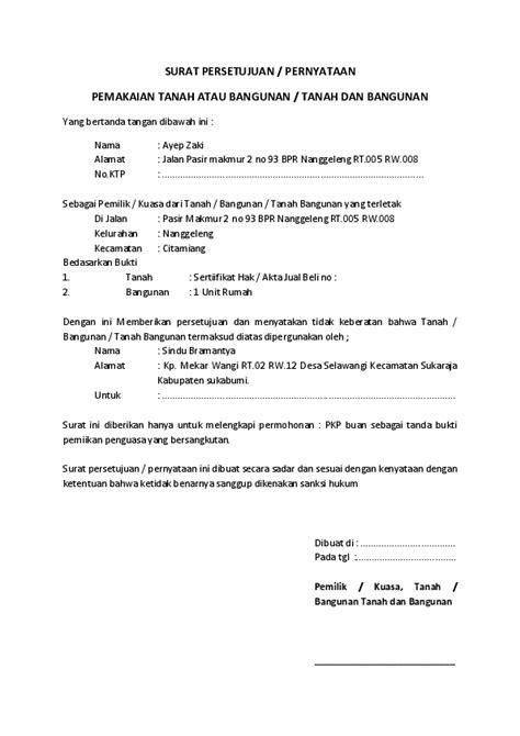 Contoh Surat Izin Menggunakan Fasilitas Suratzcom