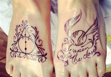 harry potter themed tattoos 28 tattoos on creativefan
