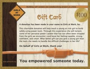 Where To Get American Girl Gift Cards - gift cards girls at work inc