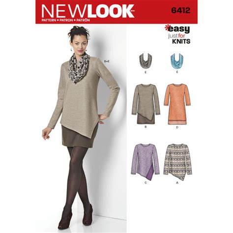 sewing knits from fit to finish proven methods for conventional machine and serger books pattern for misses easy knit dress and tunics with scarf