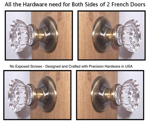 door knobs for french doors 1919a french door knob sets