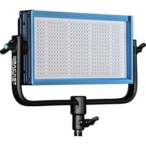 Led Light dracast led500 pro bi color led light with v mount dr