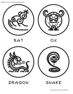 Play Imaginative Zodiac Rat 1 pattern for lucky envelope year of the festival new year lunar new