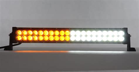 Led Warning Light Bars 21 5 Quot White Color Changable Road Strobe Light Bar Automo Lighting Led Warning