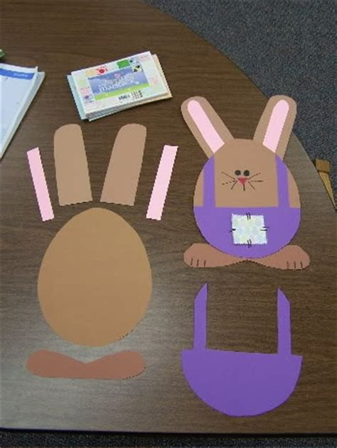 Easter Bunny Paper Crafts - easter bunny craft idea for myclassroomideas