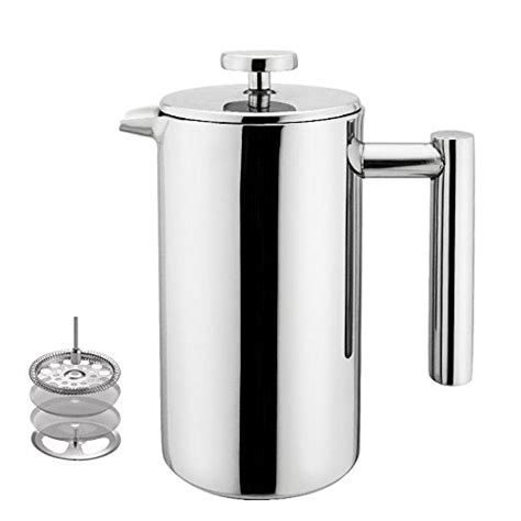 Subron Stainless Press Tea Coffee Plunger Milk Frother 800ml best coffee plunger out of top 22