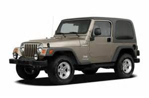 Jeep Color Options See 2005 Jeep Wrangler Color Options Carsdirect