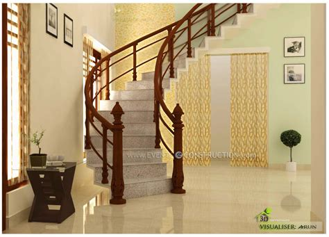 Concrete Is The Proposed Solution To This Masonry House Interior Design Pictures Kerala Stairs