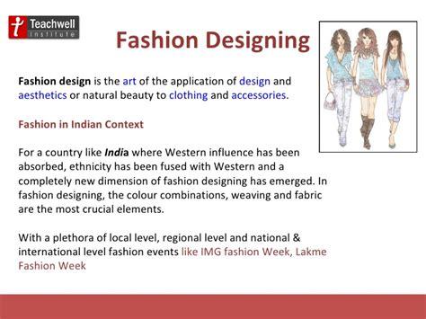 fashion design certificate jobs career in fashion designing