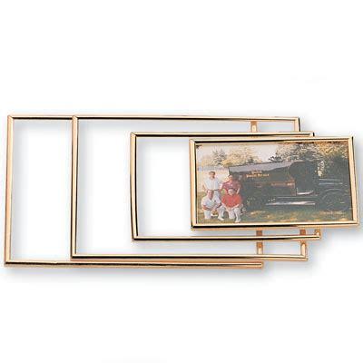 Plaque Plexiglass 606 by 8 3 8 X 10 1 4 Inch Gold Acrylic Plexiglass Frame Holds 8