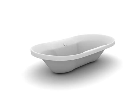 Fiberglass Or Acrylic Bathtub by Fiberglass Acrylic Bathtub 3d Model 3dsmax Files Free
