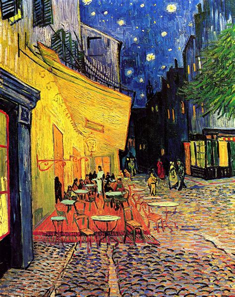 the cafe vincent gogh